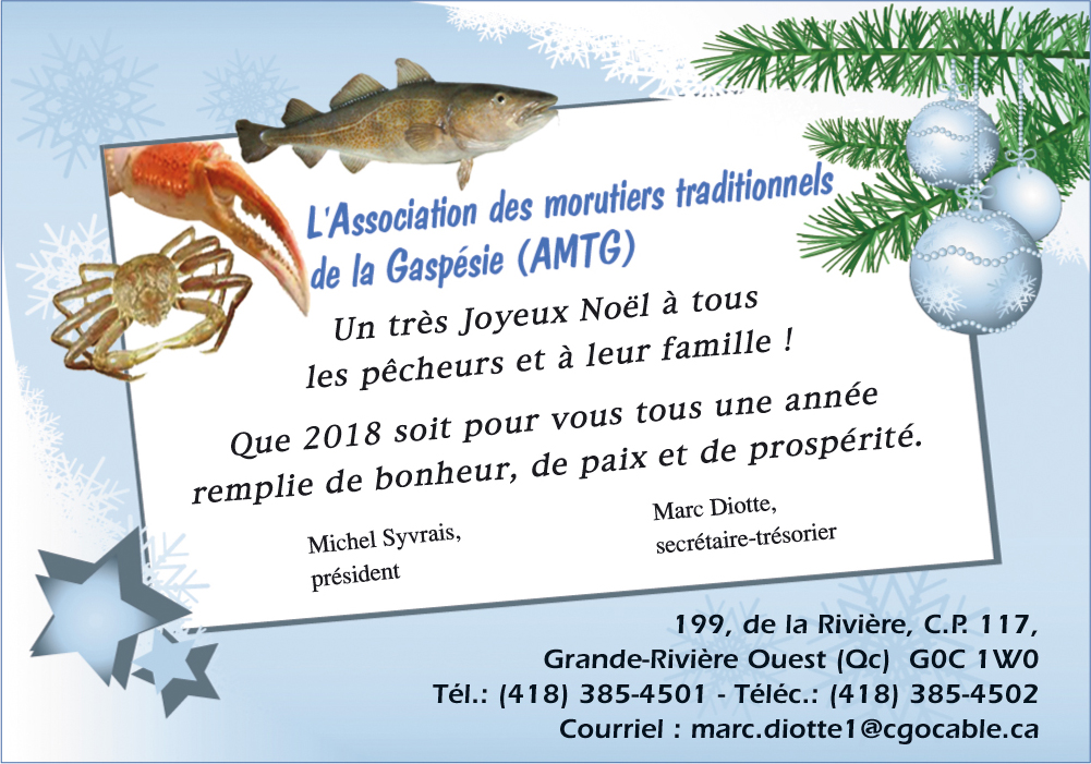 L'Association des morutiers traditionnels de la Gaspésie (ACPG)