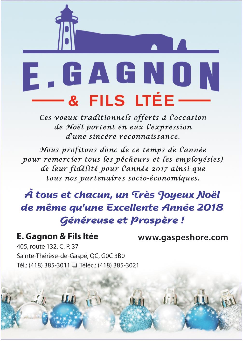E. Gagnon et Fils Ltée