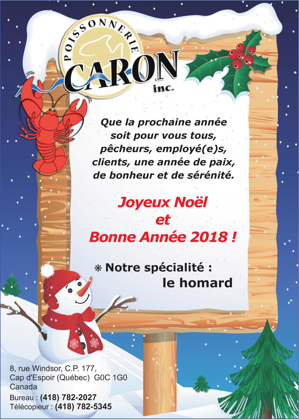 Poissonnerie Caron Inc.
