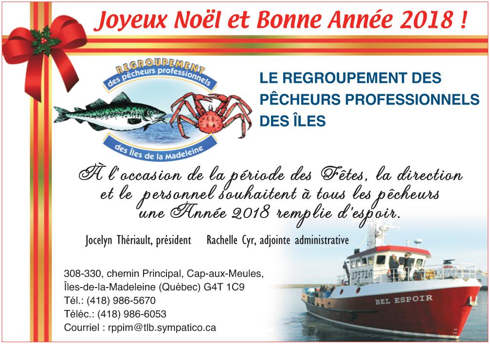 Le Regroupement des pêcheurs professionnels des Îles