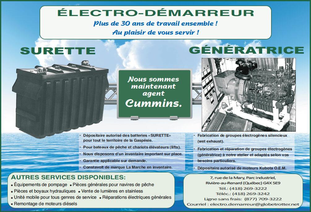 Électro-Démarreur