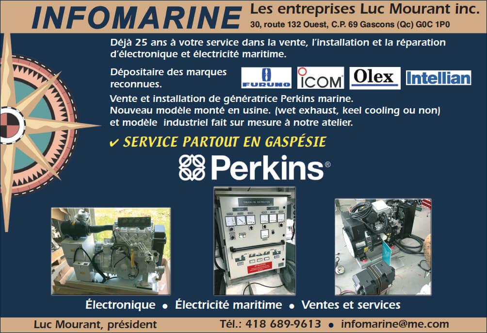 INFOMARINE Les entreprises Luc Mourant inc.