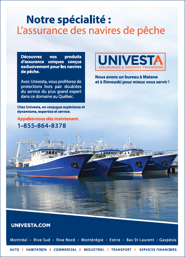 UNIVESTA - Assurance des navires de pêche