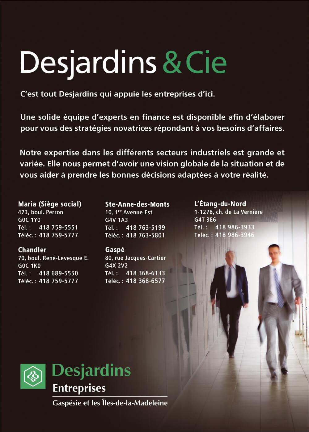 Desjardins - Centre financier aux entreprises