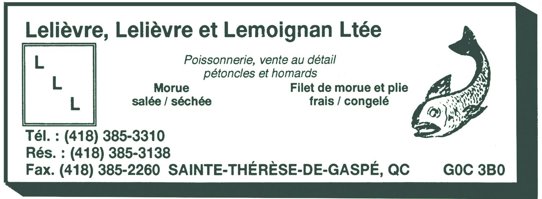 Lelièvre, Lelièvre et Lemoignan