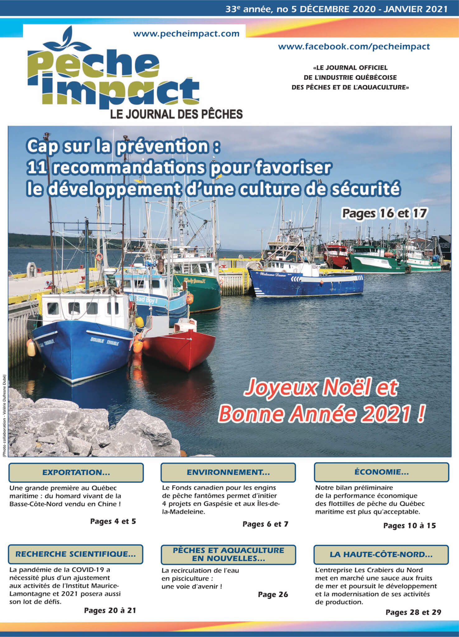 Journal Pêche Impact