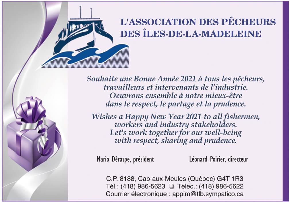 L'Association des pêcheurs des Îles-de-la-Madeleine