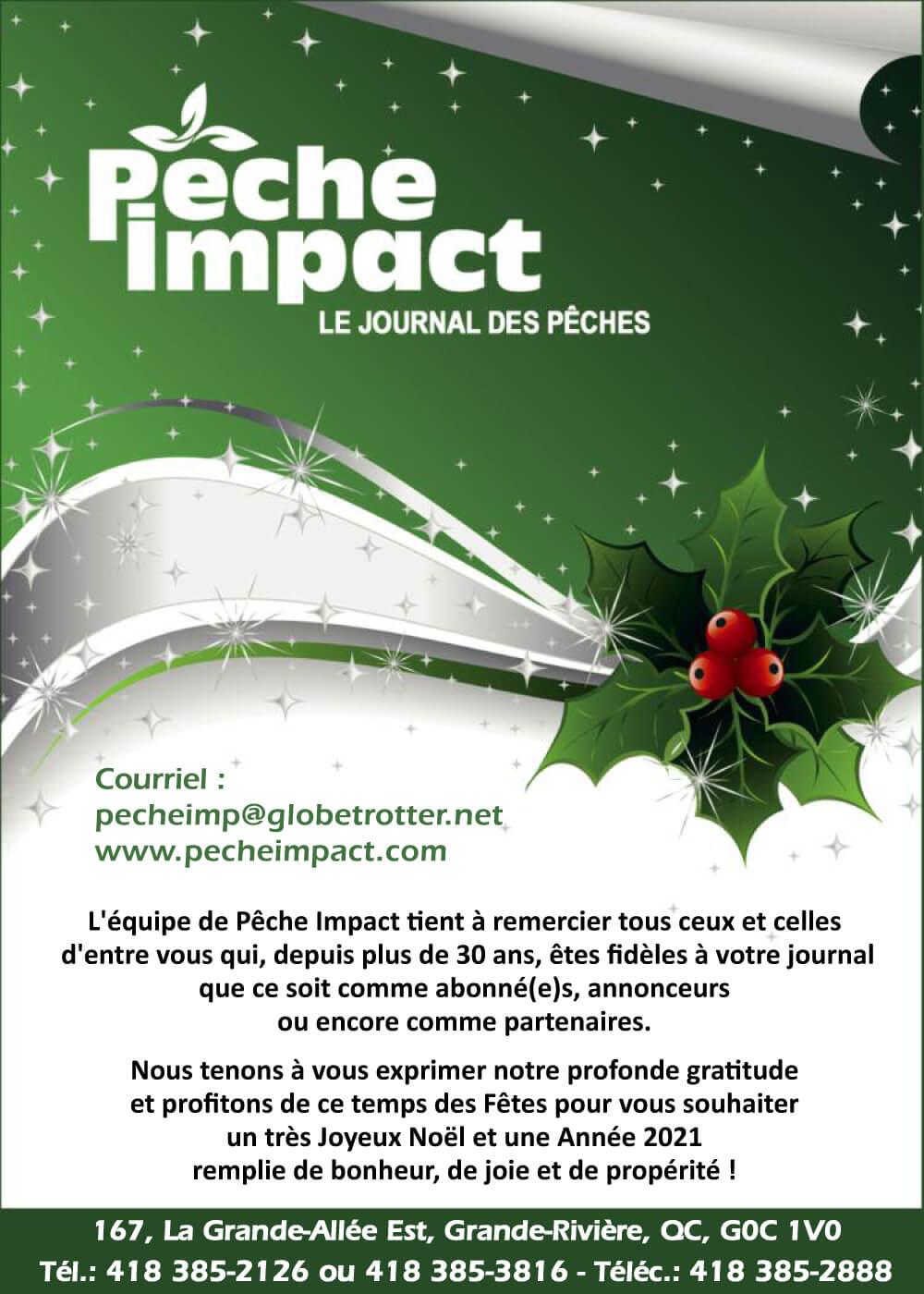 Pêche Impact (voeux de Noël)