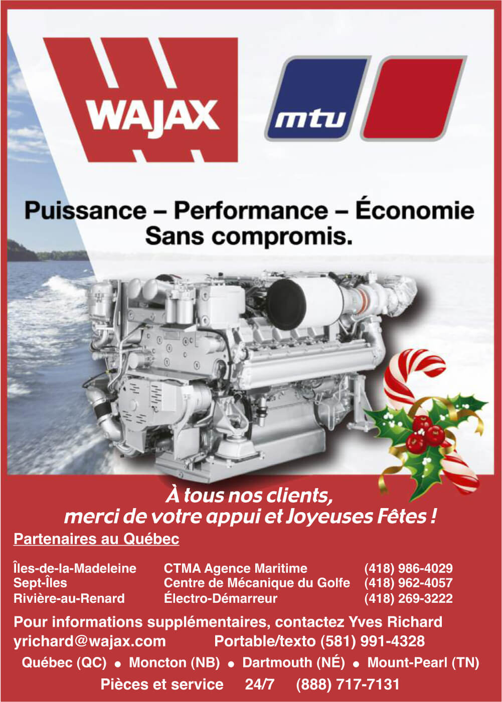 WAJAX - MTU