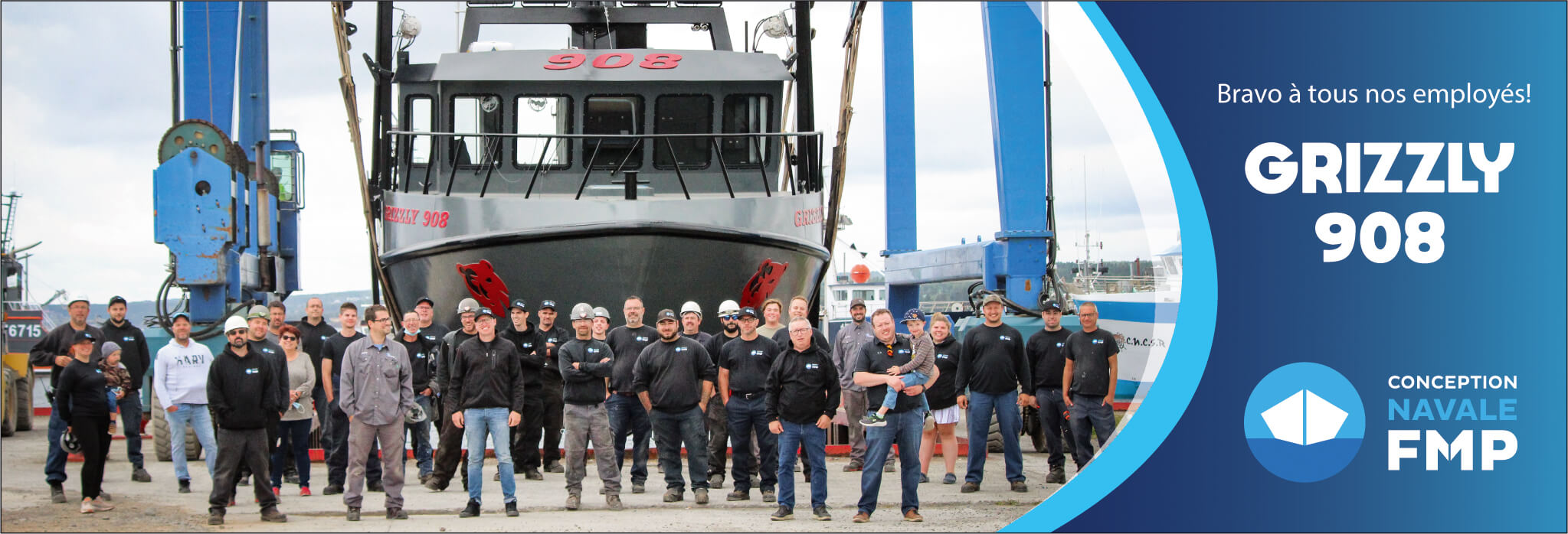 Conception navale FMP